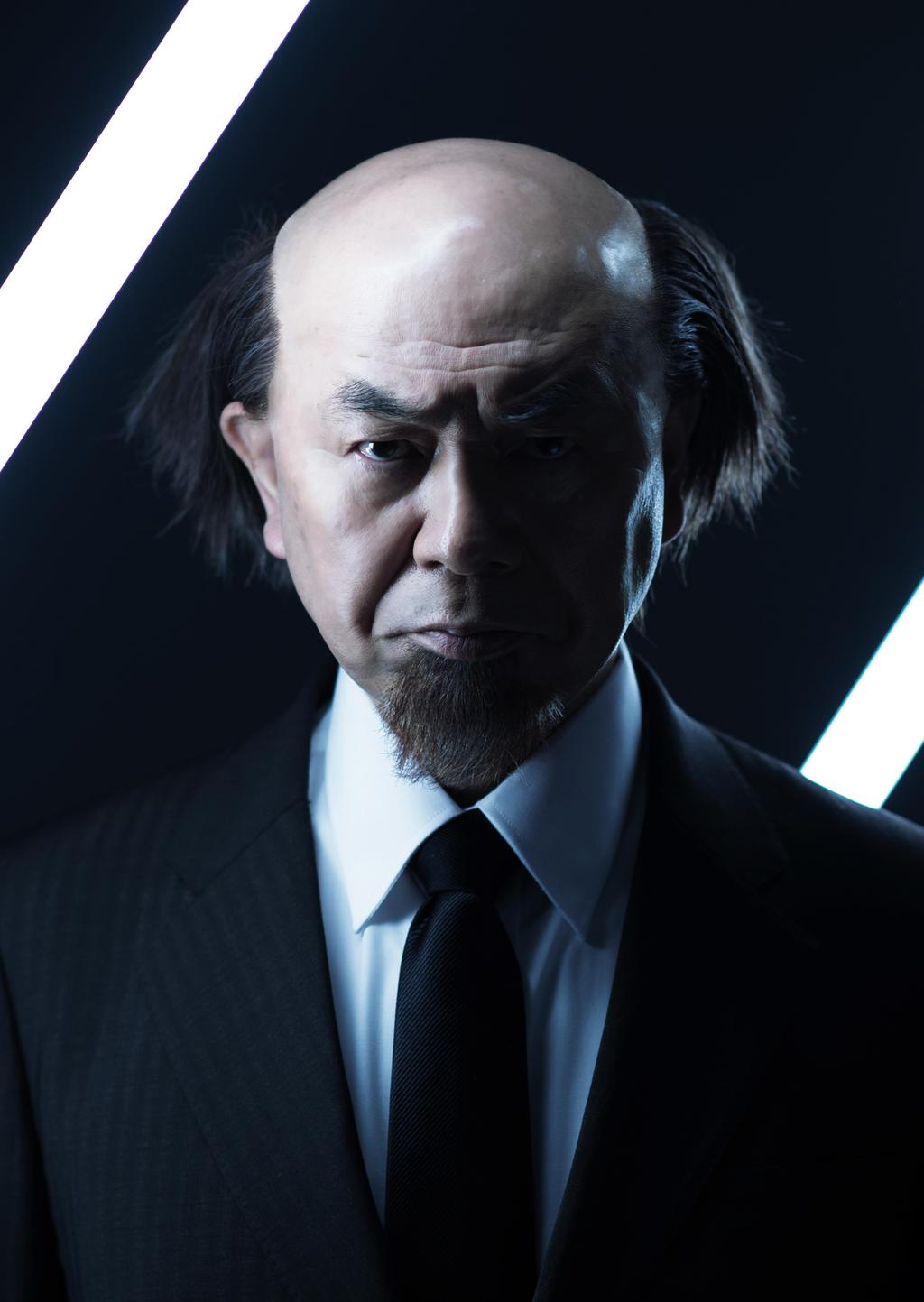 Aramaki joué par Ikkyu Jyuku