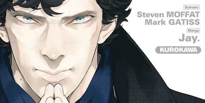 L'adaptation manga de Sherlock dispo en février 2017