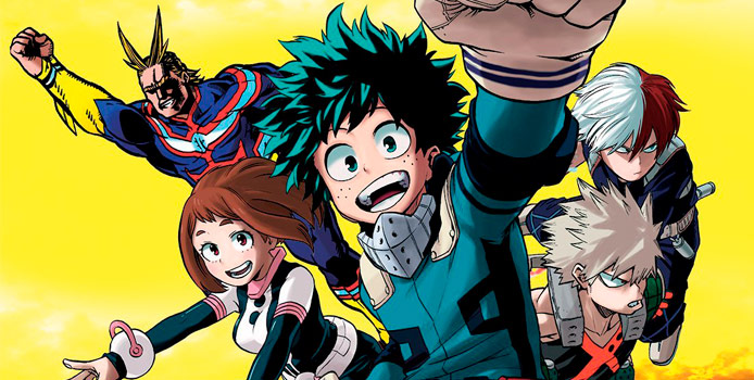 Un long métrage d'animation pour My Hero Academia